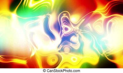 kręcił, kolor, zawiązywanie, abstrakcyjny