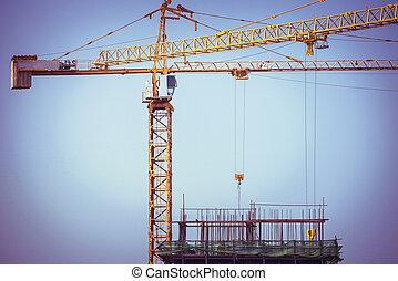 kraan, bouwsector, achtergrond