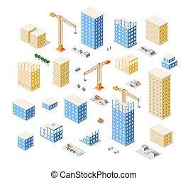 Kraan, bouwsector, Industrie