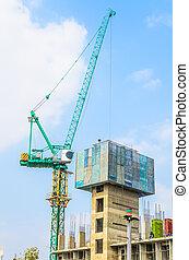 kraan, bouwsector