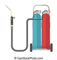 kraftstoff, oxy, schwei�arbeiten