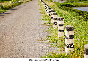 kraj, asfalt droga