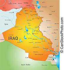 kraj, irak