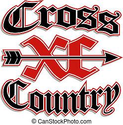 kraj, krzyż, xc