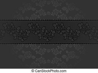 krajka, růže, tajnůstkářský rený, grafické pozadí