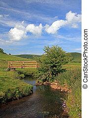 krajobraz., derbyshire