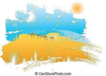 krajobraz, pustynia