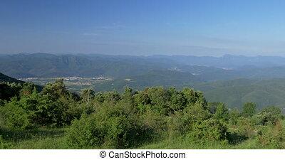 krajobrazy, natura, -, pyrenees, tłumaczenie, hiszpania,...