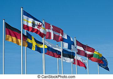 krajowy, bandery