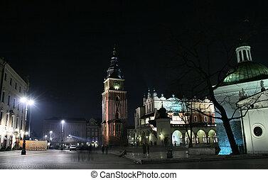 krakow, 広場, 市場