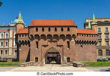 Krakow barbican - Poland