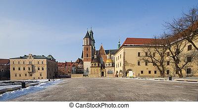 Krakow Cathedral St Stanislaw Poland Wawel Hill