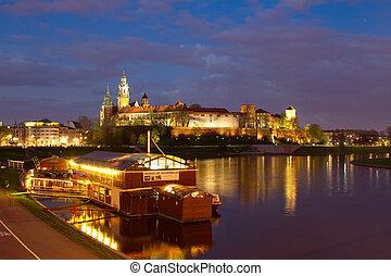 Krakow city in Poland, Europe - Krakow city in Poland,...