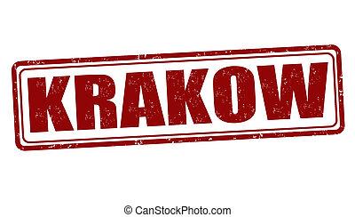 Krakow stamp