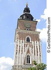 Krakow Town Hall Tower