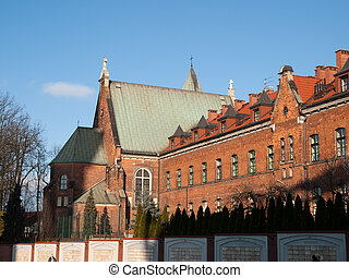 Krakow,Poland - Monastery of the Sisters of Our Lady of...