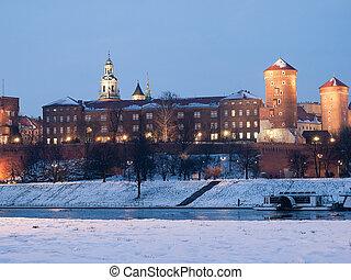 Krakow,Poland - The King Castle in Krakow