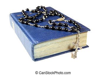 kralen, bijbel, bidsnoer