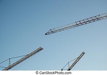 kranen, bouwsector