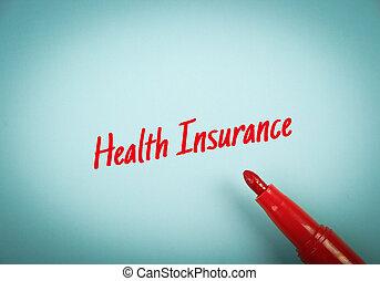krankenversicherung, begriff