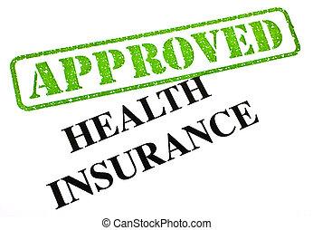krankenversicherung, genehmigt