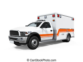 krankenwagen, auto