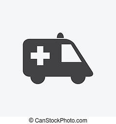 krankenwagen, zeichen