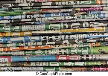 krant, achtergrond