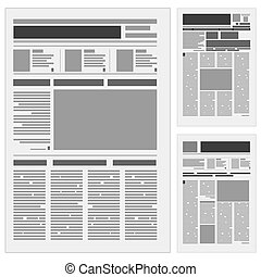 krant, set, eersteklas