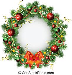 kranz, weihnachten