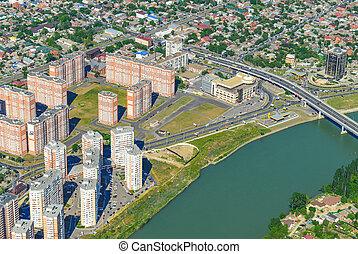 General view of the city Krasnodar