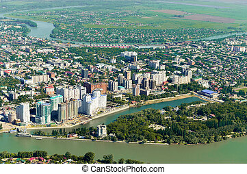 Krasnodar city general view