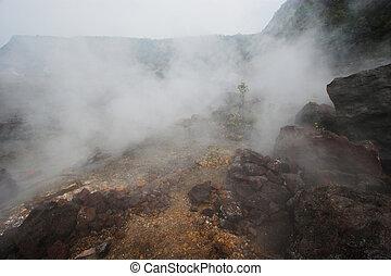 krater, boden