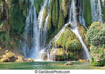 Kravice waterfalls in Bosnia Herzegovina