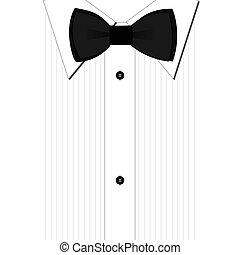 krawat, łuk