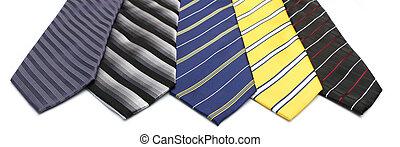 krawaty, szyja