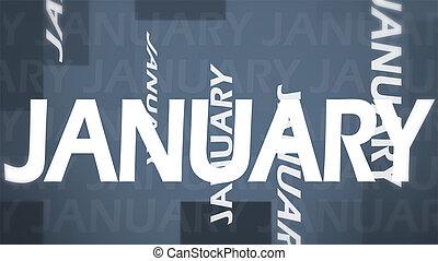 kreativ, bild, von, januar, begriff