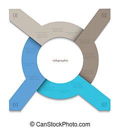 kreativ, design, banners-arrows, infographics