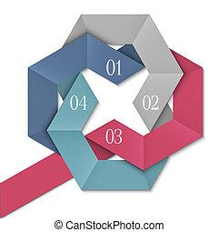 kreativ, design, schablone, infographics