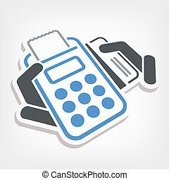 krediet, betaling, kaart