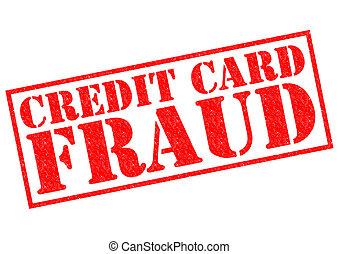 krediet, fraude, kaart