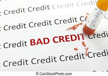 kredit, schlechte