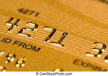 kredit, sicherheit, karte