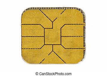 kredit, span, karte