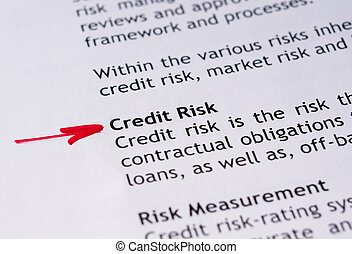 kreditera, riskera