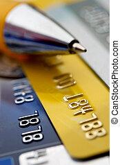 kreditkarte, hintergrund