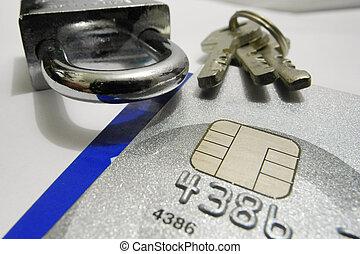 kreditkarte, sicherheit