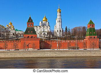 kreml, in, moskauer , (russia)