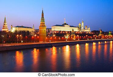 kreml, noc