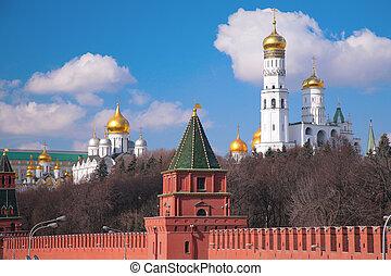 kreml, templomok